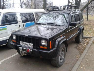 Jeep Cherokee 2000 отзыв автора | Дата публикации 01.01.2016.