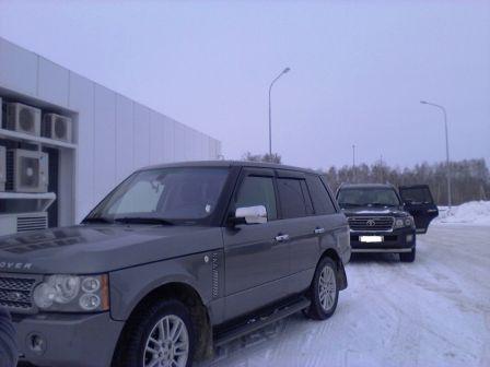 Land Rover Range Rover 2009 - отзыв владельца