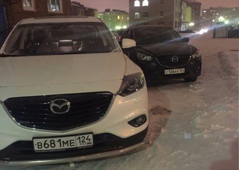 Mazda CX-9 2014 - отзыв владельца
