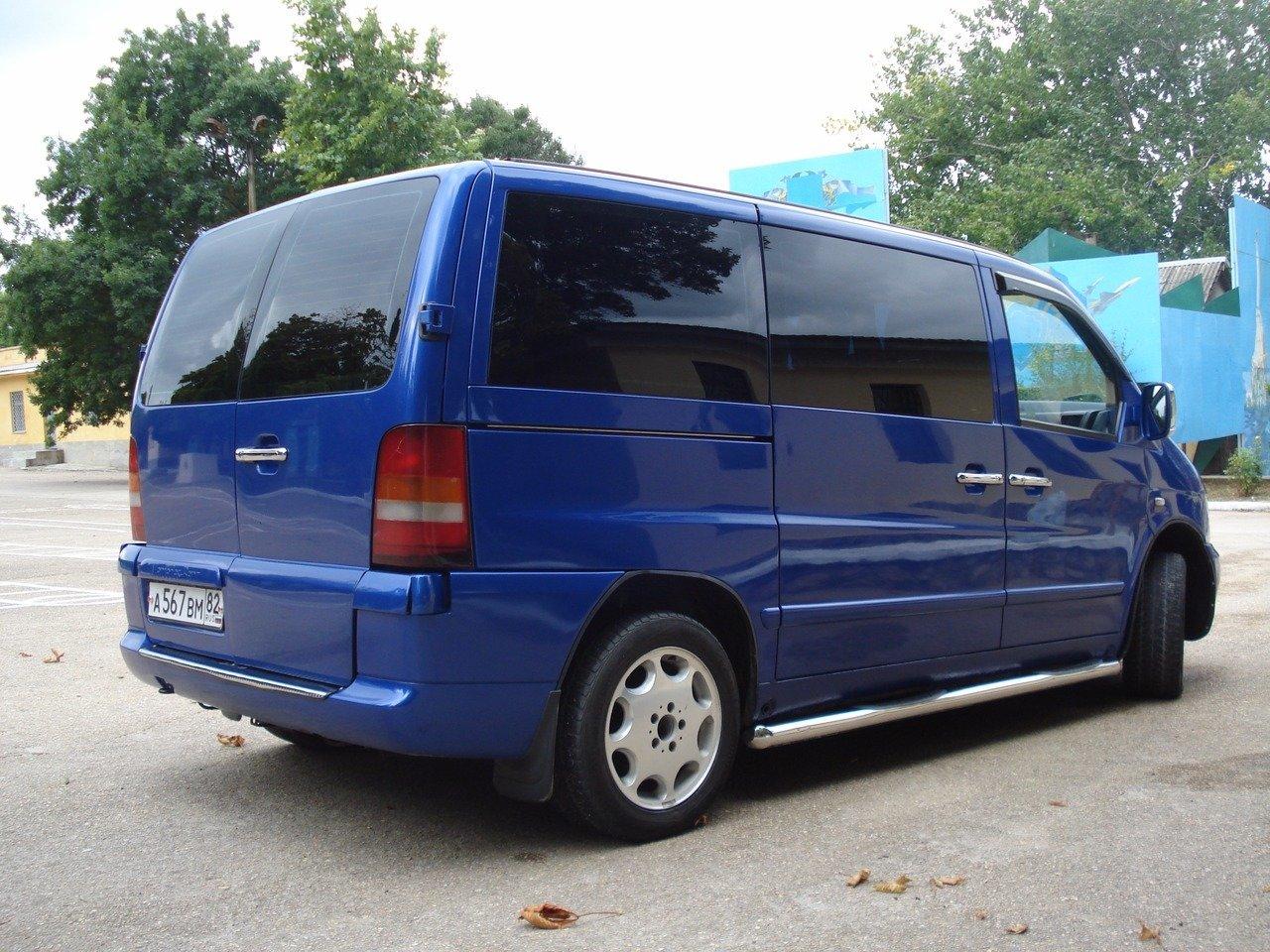 Mercedes-Benz Vito 2002, 2.2л., мкпп, дизель
