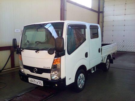 Nissan Atlas 2007 - отзыв владельца