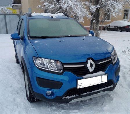Renault Sandero Stepway 2015 - отзыв владельца