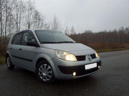 Renault Scenic 2004 - отзыв владельца