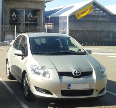 Toyota Auris 2008 отзыв автора | Дата публикации 11.01.2016.