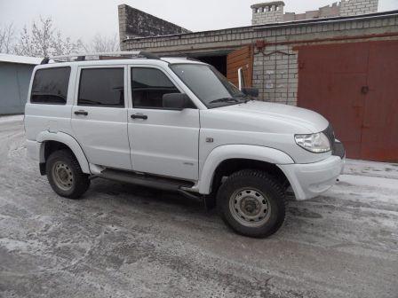 УАЗ Патриот 2014 - отзыв владельца