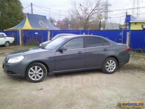 Chevrolet Epica, 2011 год, 555 000 руб.