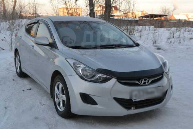 Hyundai Elantra, 2013 год, 655 000 руб.