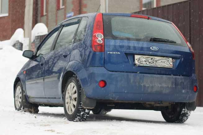 Ford Fiesta, 2006 год, 270 000 руб.