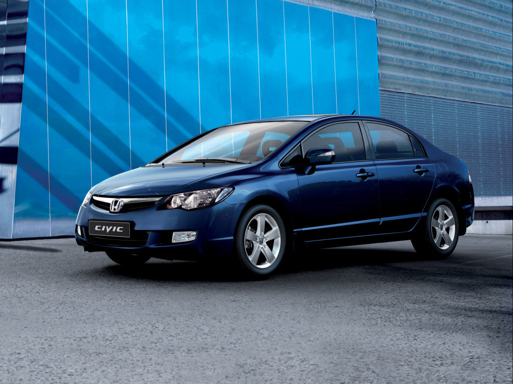 основные параметры honda civic sedan ex 2000