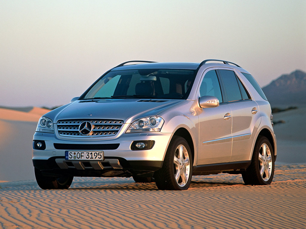 Mercedes benz m class 2005 2006 2007 2008 suv 2 for Mercedes benz mclass