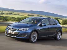 Opel Astra рестайлинг 2012, хэтчбек 5 дв., 4 поколение, J