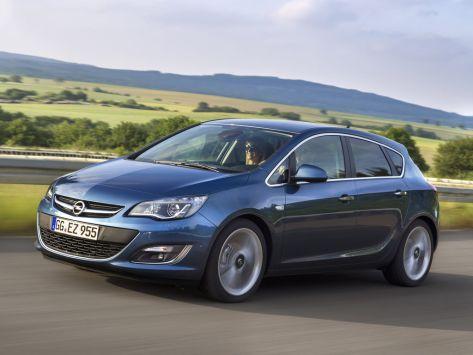 Opel Astra (J) 09.2012 - 10.2015