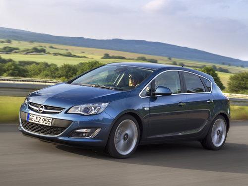 Opel Astra 2012 - 2015