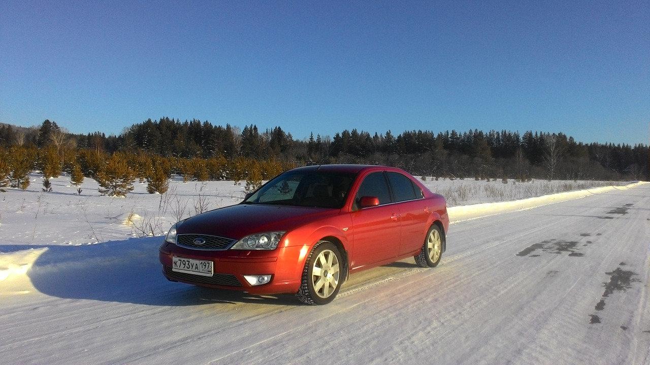 На морозе машине хорошо)