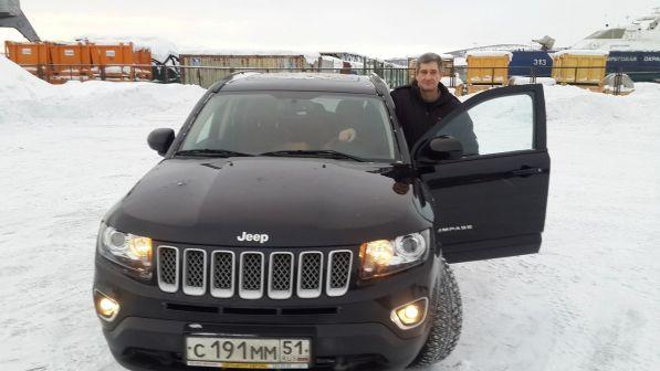 Jeep Compass 2013 - отзыв владельца