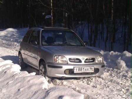 Nissan Micra 2000 - отзыв владельца