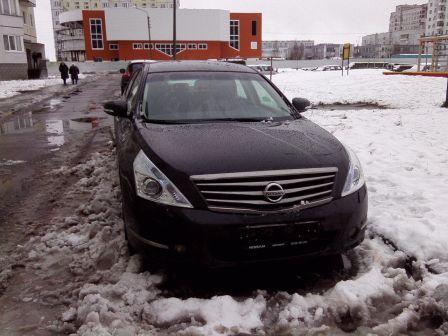 Nissan Teana 2012 - отзыв владельца