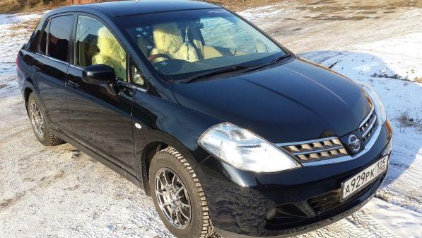 Nissan Tiida Latio 2008 - отзыв владельца