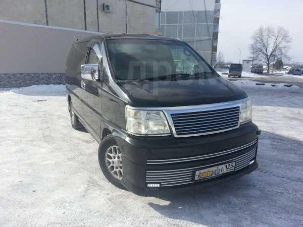 Nissan Elgrand, 2000 год, 150 000 руб.
