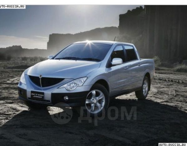 SsangYong Actyon Sports, 2008 год, 365 000 руб.