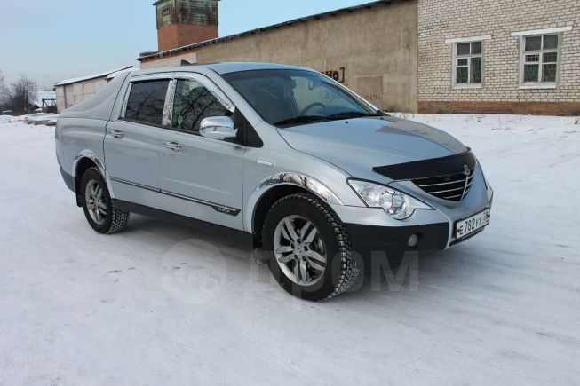 SsangYong Actyon Sports, 2011 год, 585 000 руб.