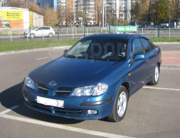 Nissan Almera, 2001 год, 170 000 руб.