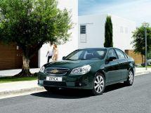 Chevrolet Epica рестайлинг, 1 поколение, 09.2009 - 01.2013, Седан