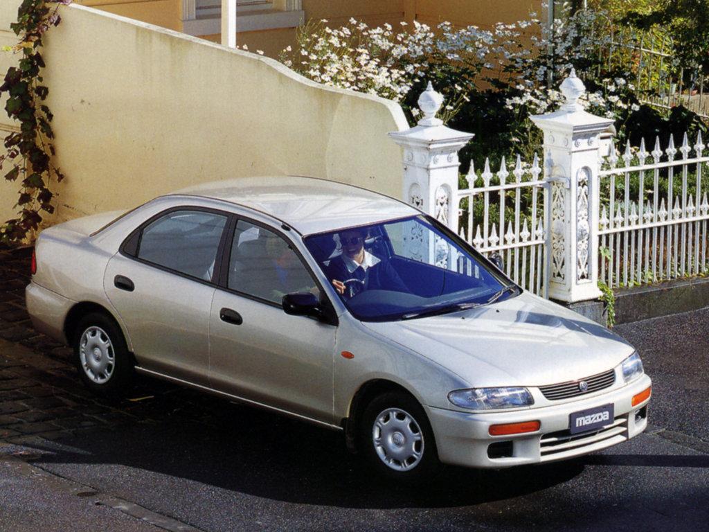 mazda familia 1996 характеристики