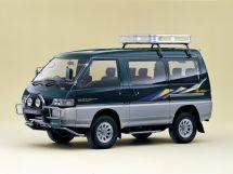 Mitsubishi Delica рестайлинг 1990, минивэн, 3 поколение