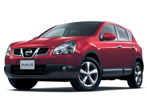 Nissan Dualis (J10) 08.2010 - 03.2014