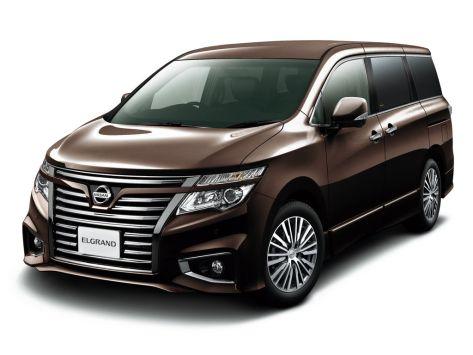 Nissan Elgrand (E52) 01.2014 - 09.2020