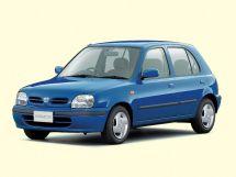 Nissan March 2-й рестайлинг 1997, хэтчбек 5 дв., 2 поколение, K11