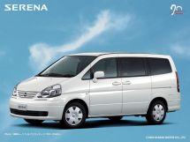 Nissan Serena рестайлинг, 2 поколение, 12.2001 - 04.2005, Минивэн