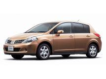 Nissan Tiida рестайлинг, 1 поколение, 01.2008 - 08.2012, Хэтчбек 5 дв.
