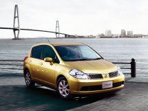 Nissan Tiida 2004, хэтчбек, 1 поколение, C11
