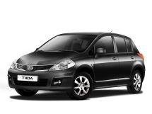 Nissan Tiida рестайлинг, 1 поколение, 10.2010 - 07.2014, Хэтчбек 5 дв.