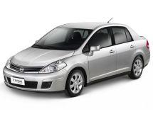 Nissan Tiida рестайлинг, 1 поколение, 10.2010 - 07.2014, Седан