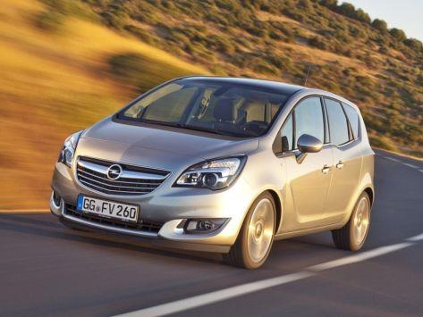 Opel Meriva (B) 01.2014 - 10.2015