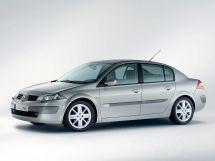 Renault Megane 2 поколение, 09.2002 - 09.2006, Седан