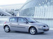Renault Megane 2 поколение, 09.2002 - 09.2006, Хэтчбек 5 дв.