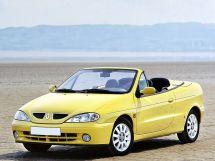 Renault Megane рестайлинг, 1 поколение, 03.1999 - 09.2003, Открытый кузов