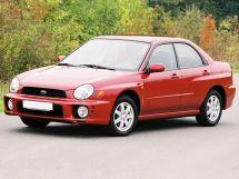 Subaru Impreza 2 поколение, 04.2000 - 10.2002, Седан