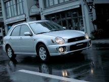 Subaru Impreza 2 поколение, 04.2000 - 10.2002, Универсал