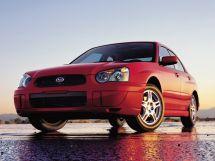 Subaru Impreza рестайлинг, 2 поколение, 11.2002 - 06.2005, Седан