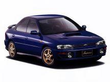 Subaru Impreza WRX 1992, седан, 1 поколение, GC