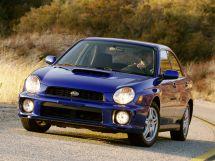 Subaru Impreza WRX 2000, седан, 2 поколение, GD