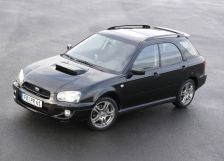 Subaru Impreza WRX рестайлинг 2002, универсал, 2 поколение, GG