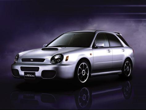 Subaru Impreza WRX (GG) 04.2000 - 10.2002