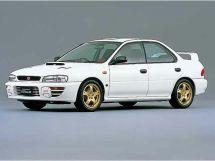 Subaru Impreza WRX STI рестайлинг 1996, седан, 1 поколение, GC