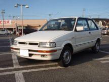 Subaru Justy рестайлинг 1988, хэтчбек 3 дв., 1 поколение, KA